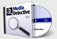 Media Detective box and CD